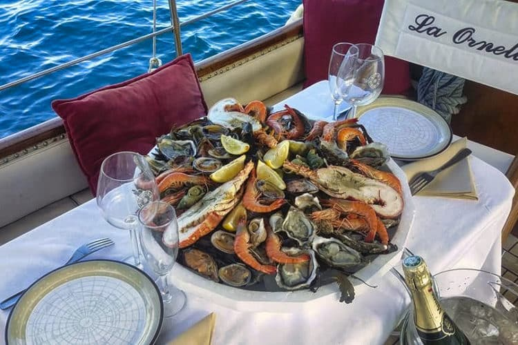 Fruits de mer à Banyuls-sur-Mer