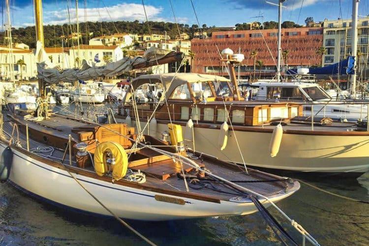 Bateaux au patrimoine maritime Méditerranée