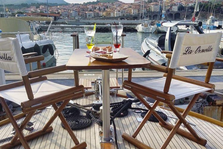 Cocktail bateau vacances