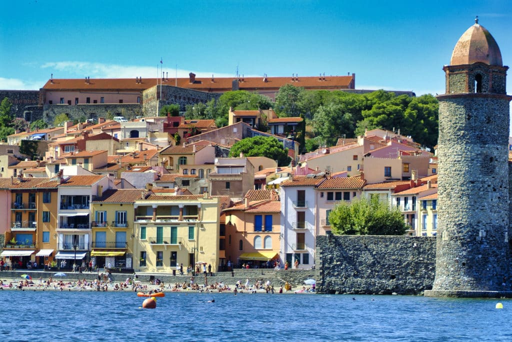 Clocher de Collioure en Occitanie