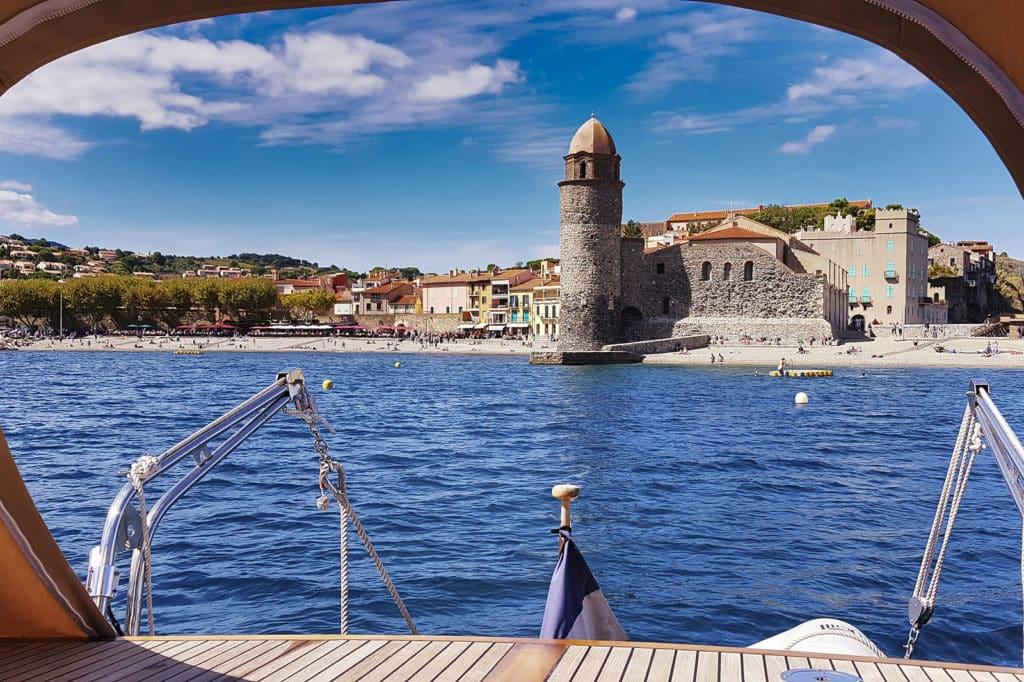 Location bateau habitable Collioure
