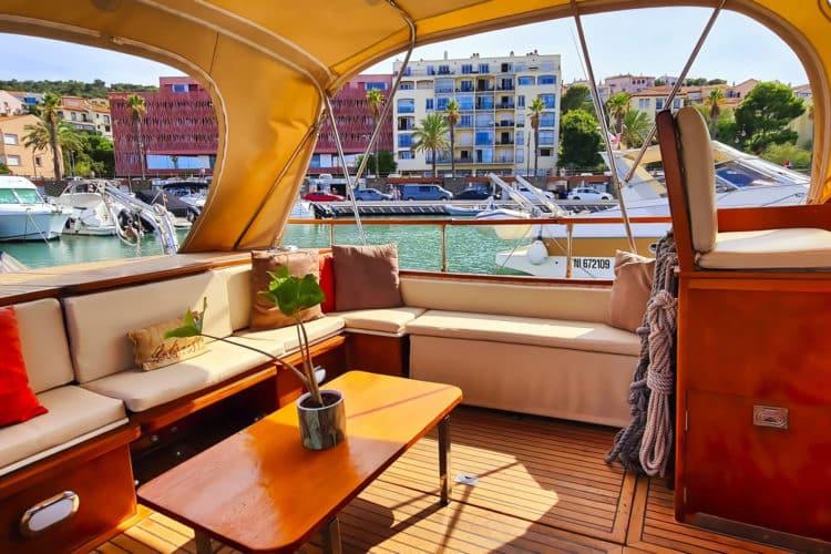 Appartement de vacances + bateau