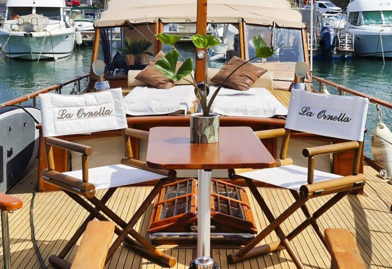 Location de vacances à Banyuls sur Mer sur un bateau
