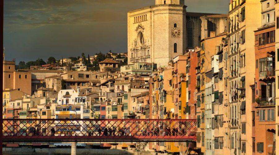 Ville de Girona Espagne
