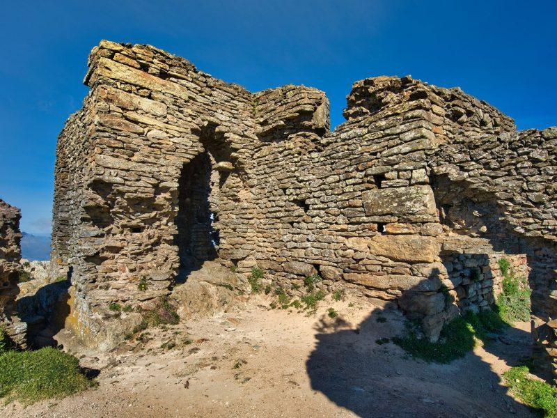 Ruines au Monastère de Sant Pere de Rodes