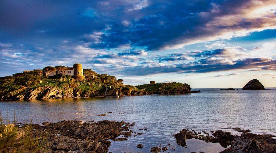 Maison sur île à Cadaqués