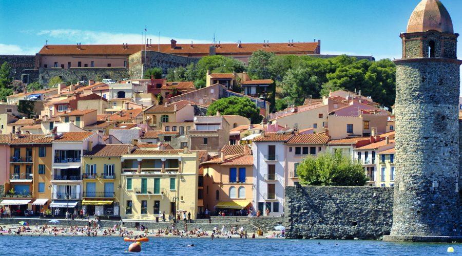 Clocher de Collioure en Occitanie