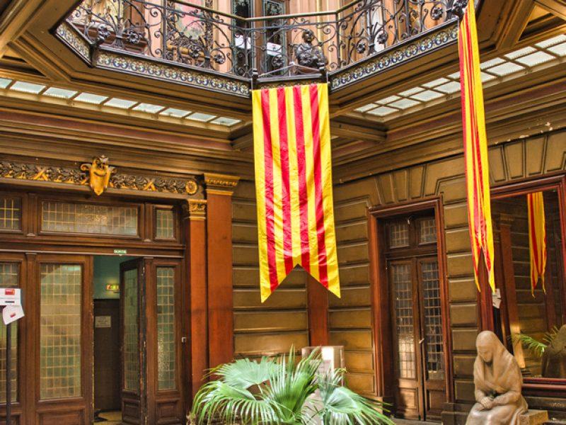 Hall de l'hôtel Pams à Perpignan