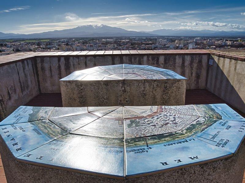 Table d'orientation Palais des Rois de Majorque