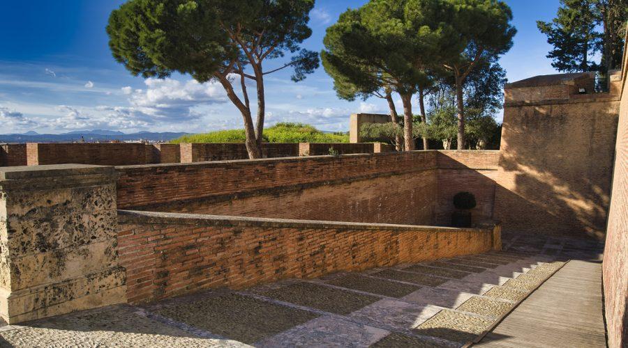 Remparts du Palais des Rois de Majorque