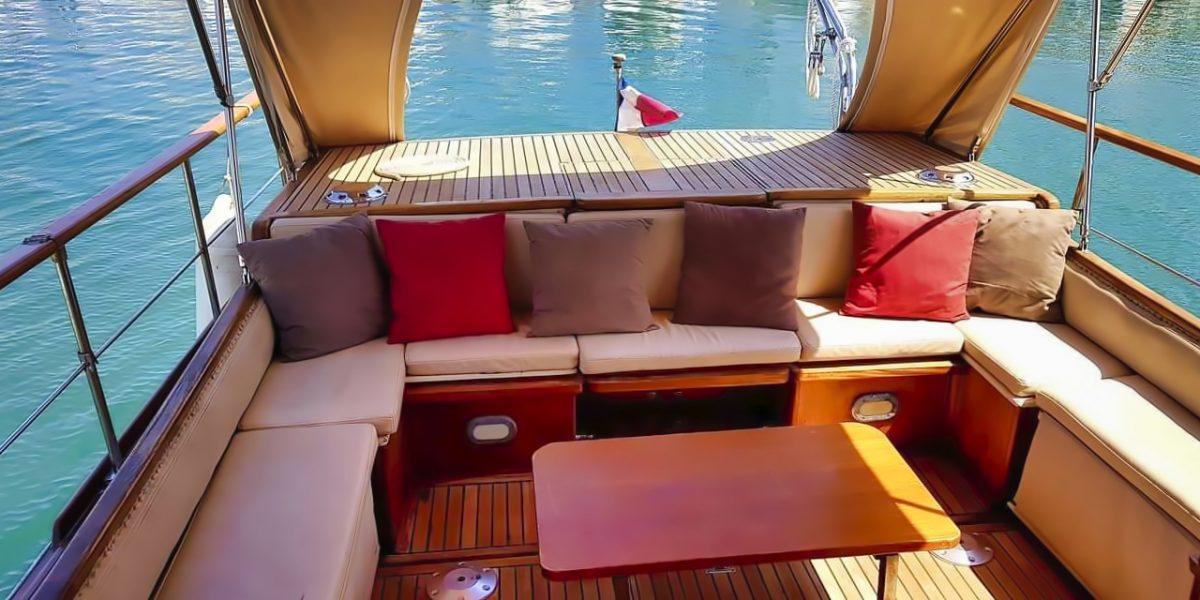 Espace extérieur bateau