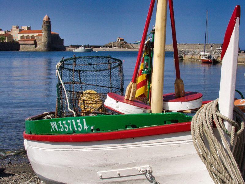 Barque Catalane à Collioure