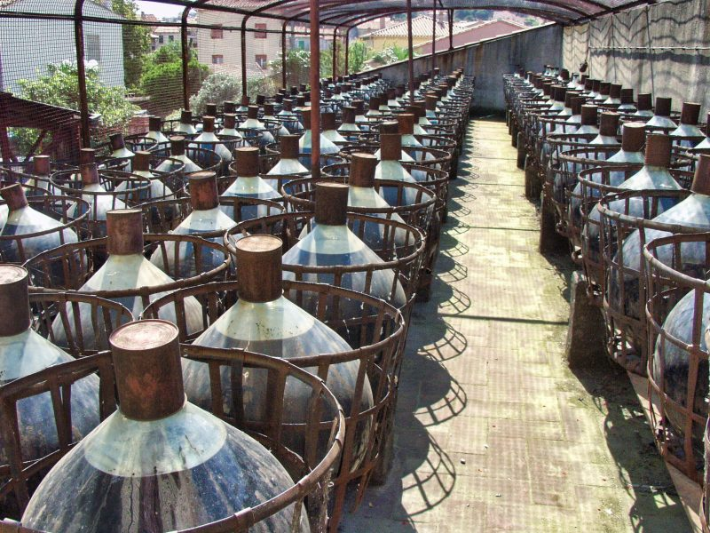 Vieillissement vin Banyuls