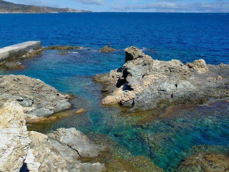 Bord de mer à Banyuls sur Mer