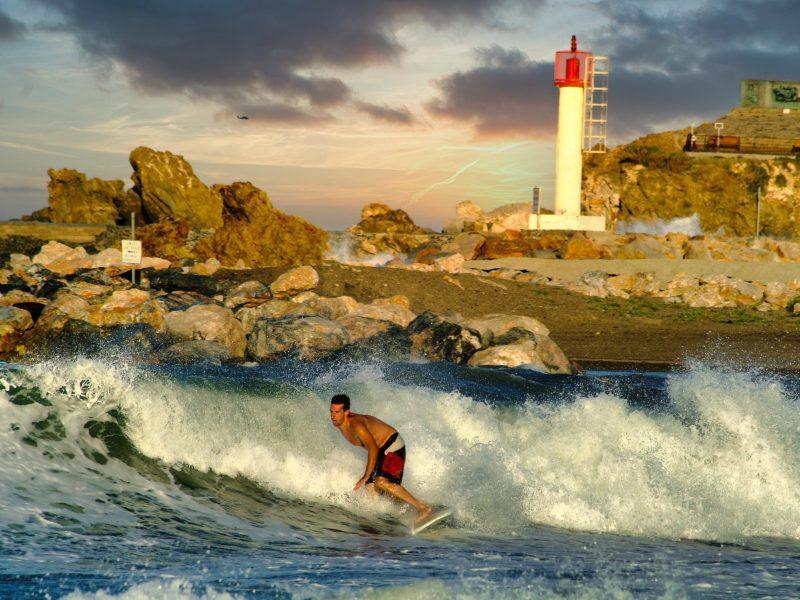 Surf à Banyuls