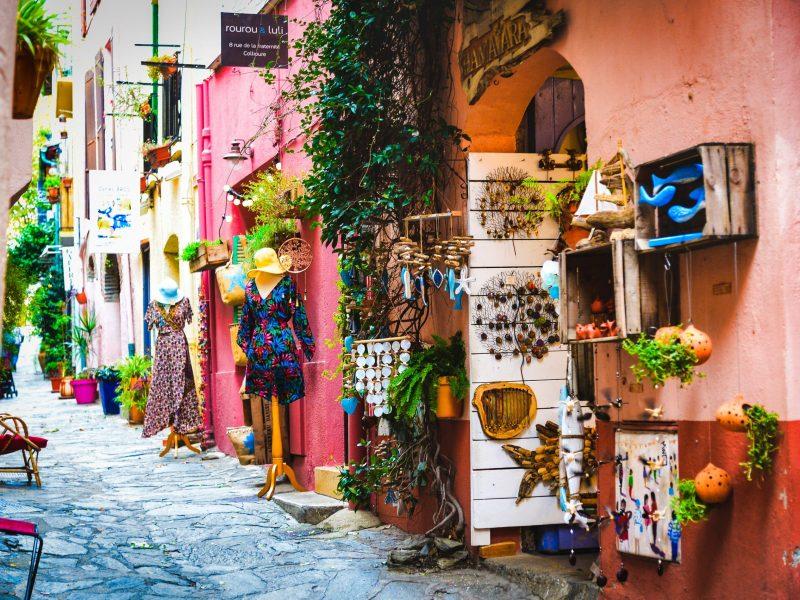 Commerces de Collioure