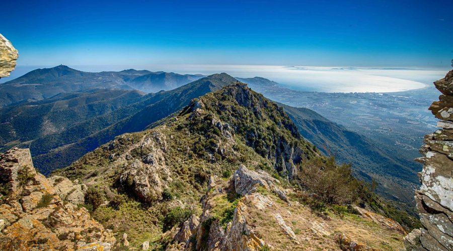 Massif montagneux des Pyrénées Orientales en Espagne