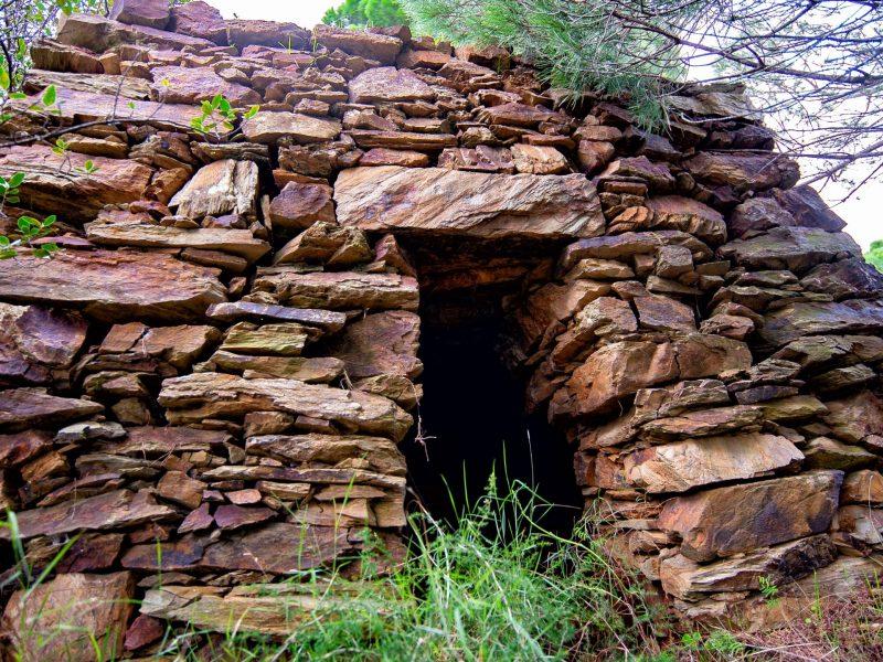 Cabane en pierres sèche