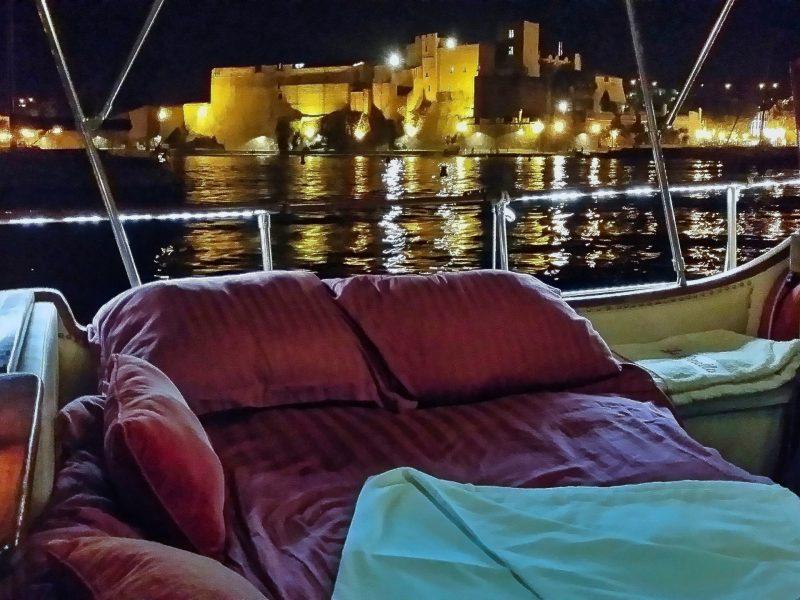 Nuit à Collioure
