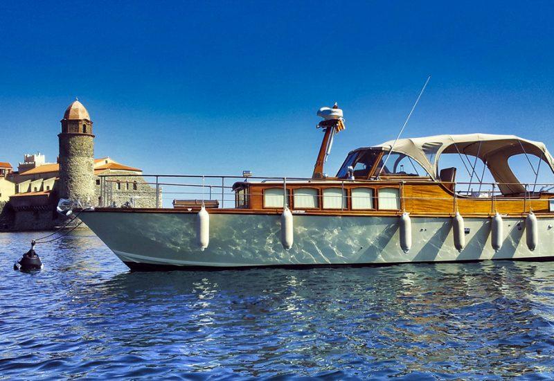 Location bateau Collioure Banyuls