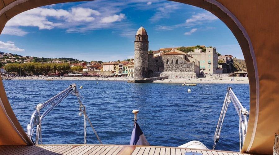 Yacht charter Collioure